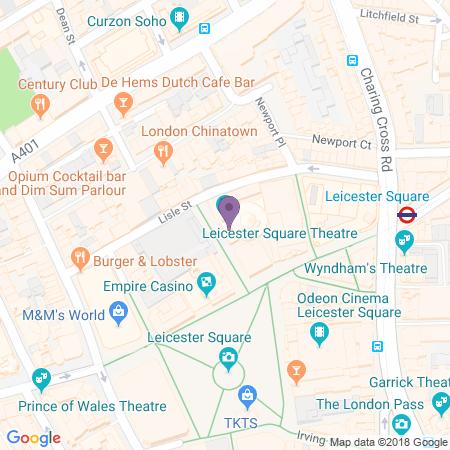 Adresse du Leicester Square Theatre