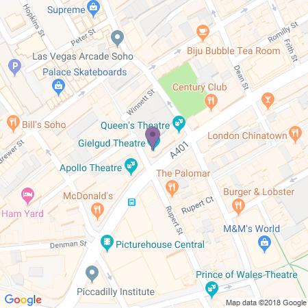Adresse du Gielgud Theatre