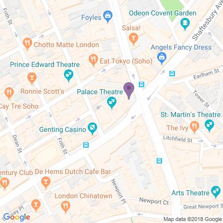 Adresse du Palace Theatre