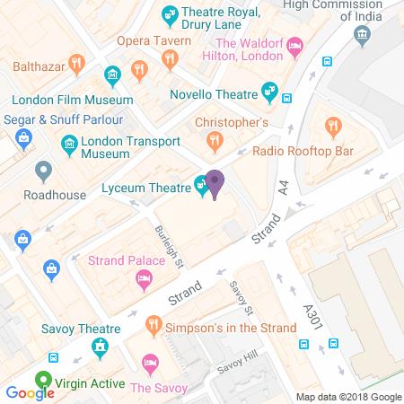 Adresse du Lyceum Theatre