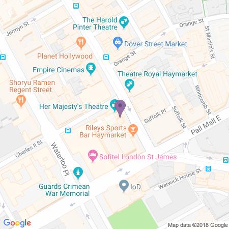 Adresse du Her Majesty's Theatre