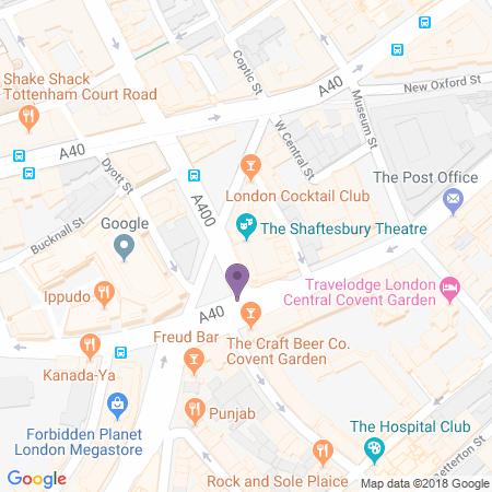 Adresse du Shaftesbury Theatre