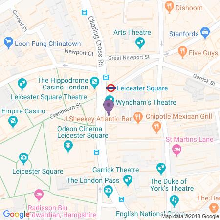 Adresse du Wyndham's Theatre