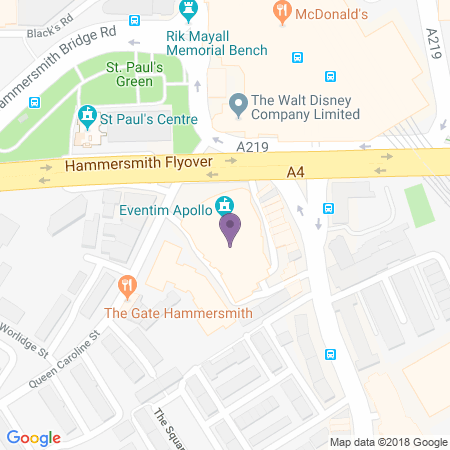 Adresse du Hammersmith Apollo (Eventim)