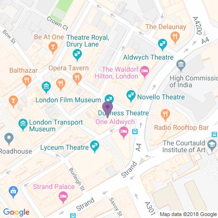 Adresse du Duchess Theatre