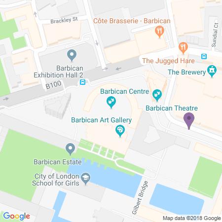 Adresse du Barbican Theatre