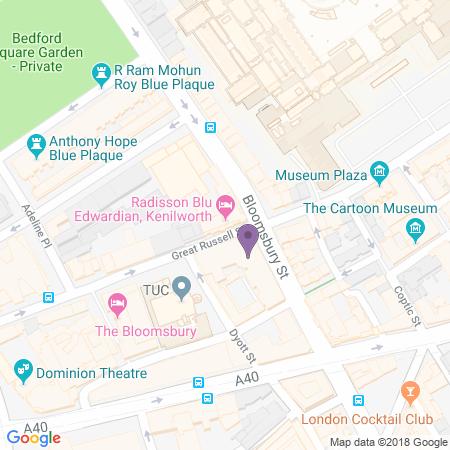 Adresse du Radisson Blu Edwardian