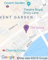 Savoy Theatre - Adresse du théâtre