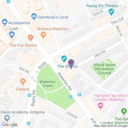 Adresse du Old Vic Theatre