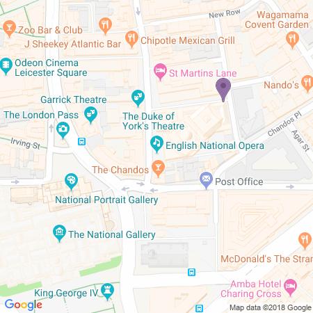 Adresse du London Coliseum