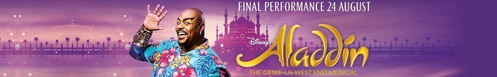 Aladdin le Musical à Londres