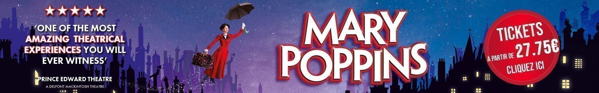 Mary Poppins la comédie musicale à Londres