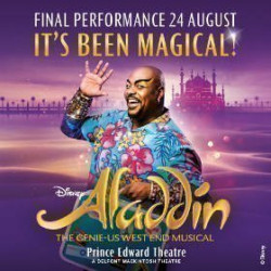 Aladdin The Musical, Londres