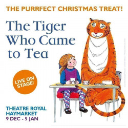 The Tiger Who Came To Tea, Londres