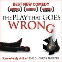 The Play That Goes Wrong, Londres