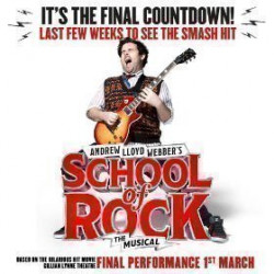 School of Rock the Musical, Londres