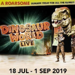 Dinosaur World Live, Londres