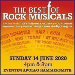 The Best Of...Rock Musicals, Londres