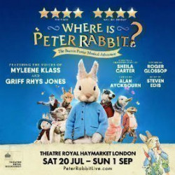 Where Is Peter Rabbit?, Londres