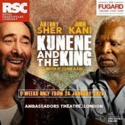 Kunene and the King, Londres