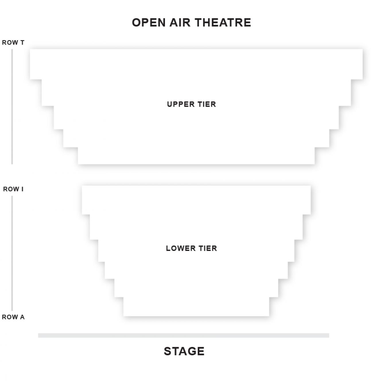 Open Air - Plan de Salle